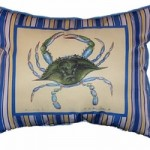 Blue Crab Maine Pillow