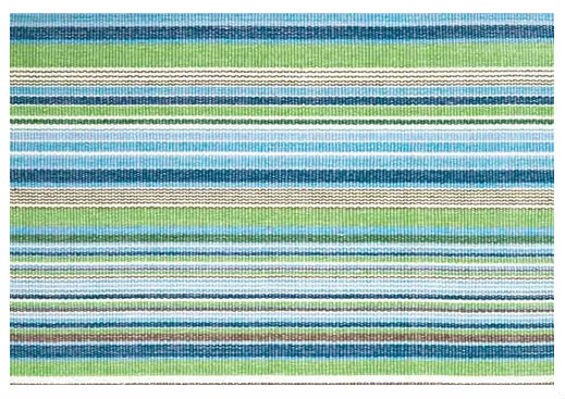 nautical colored cotton rug