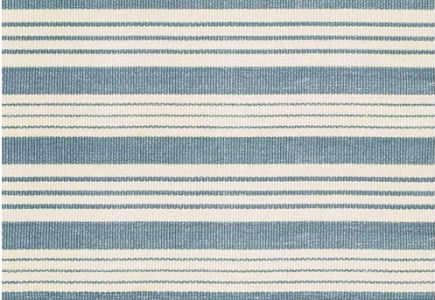 Blue And White Striped Rugs Cottage