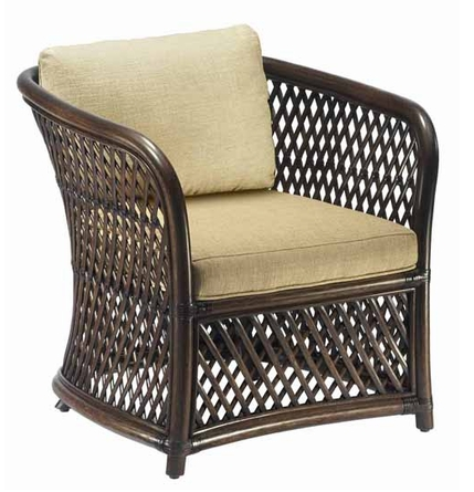 Rattan pole chair