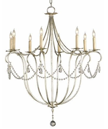 8 Candle Chandelier