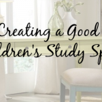 Creating a Good Children's Study Space