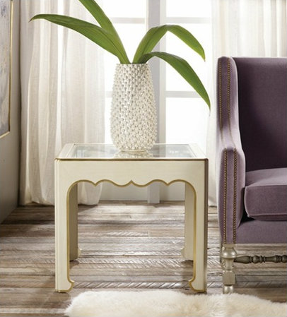 Cottage & Bungalow French Modern End Table