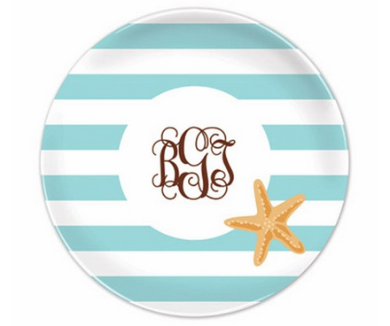 personalize beach plates