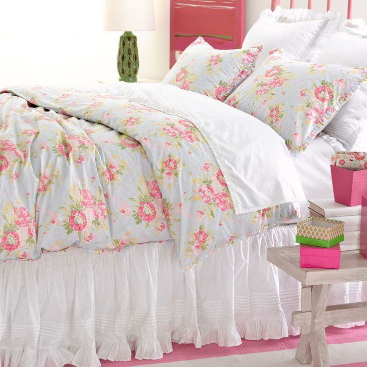 soft and colorful bedding