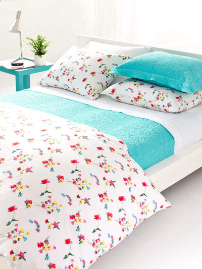 colorful coverlets