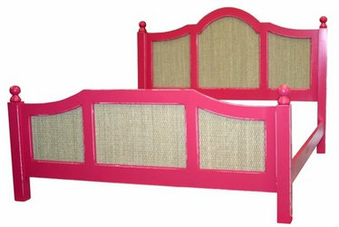 seagrass daybed in pink