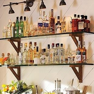 5 Steps That Will Help You Setup a Home Bar Today | Cottage & Bungalow