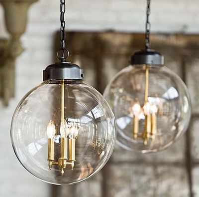 Large Globe Pendant Lights