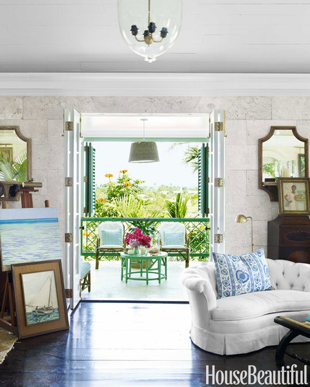 Home Tour: Breezy Bahamian Home