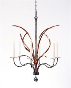 Grass Copper Chandelier