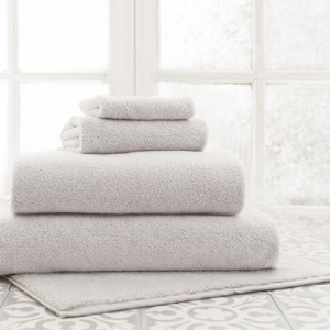 Dove Grey Bath Towels