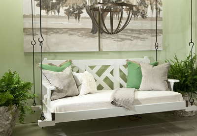 Chippendale Porch Bed Swing