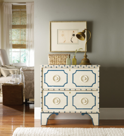 cottage and bungalow indian bay bedside chest