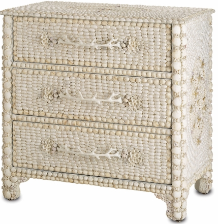 Marchmont 3 drawer seashell chest