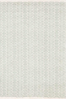 Ivory cotton woven rug