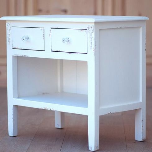 Vintage Chic Mary Jane Nightstand