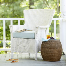 Serene Coastal Porches Using Beach Style Creature Comforts