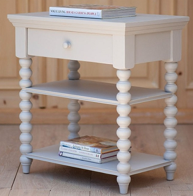 Spindle Leg Side Table