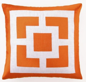 Palm Springs Pillow in Orange
