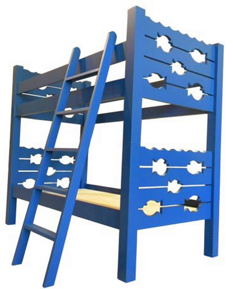 Fish Bunk Bed - Perfect for your beach house decor.