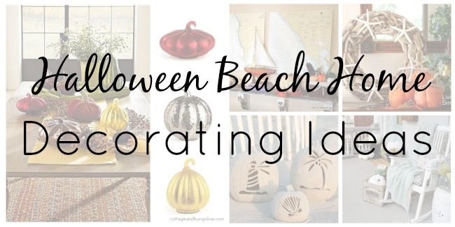 Halloween Beach Home Decorating Ideas Collage2