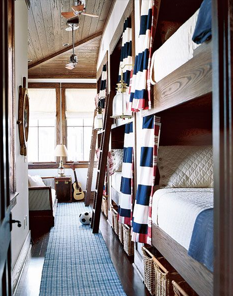 Ship Inspired Bunk Beds
