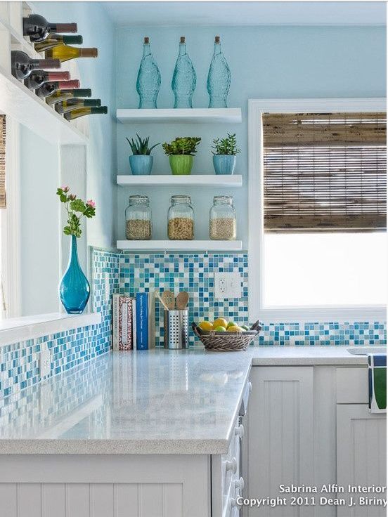 Beautiful Beach Kitchen