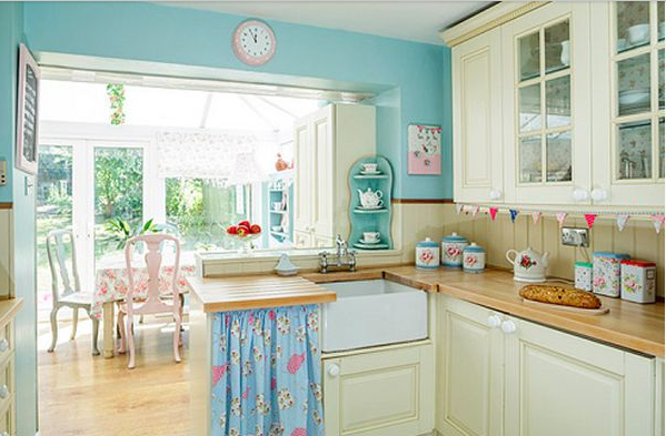 Chic Beach Kitchen By Hearthandmade UK