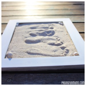 Kid's Footprints in the Sand (photo from pagingfunmums.com)