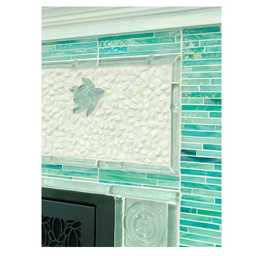 BH&G Turquoise Fireplace