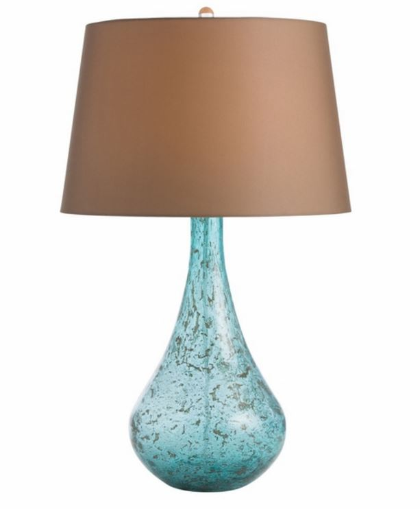 Cottage and Bungalow Turquoise Lamp
