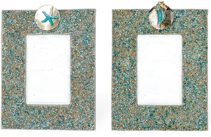 Cottage and Bungalow Turquoise Mirrors