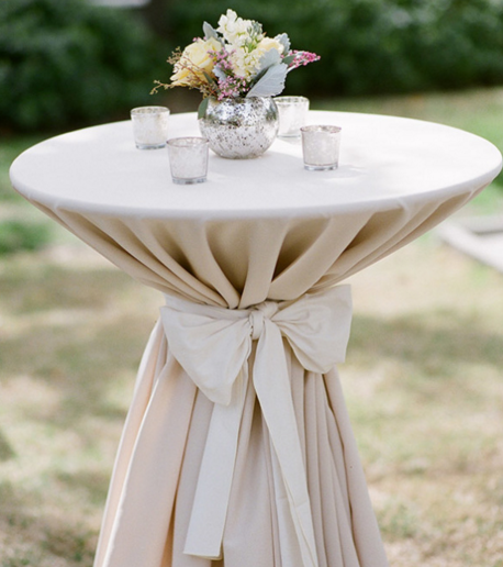 StyleMePretty - Outdoor Cocktail Table