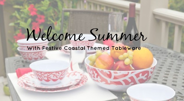 Welcome Summer With Festive Coastal Themed Tableware