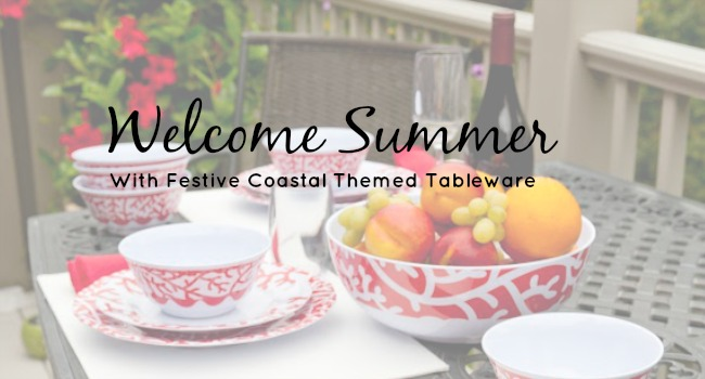 coastal themed tableware header