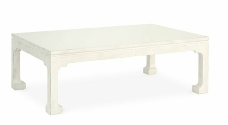 coastal living room - rectangle coffee table