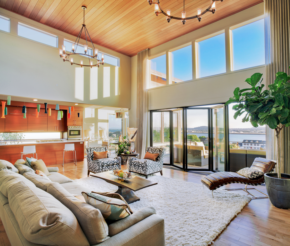 family friendly beach home -chandeliers
