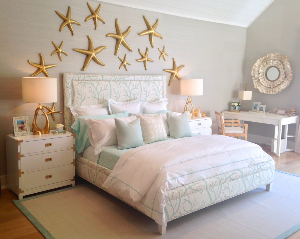 coastal luxury - gold accents