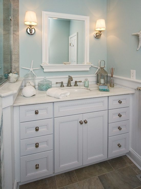 Beach Cottage Bathroom Ideas Calm