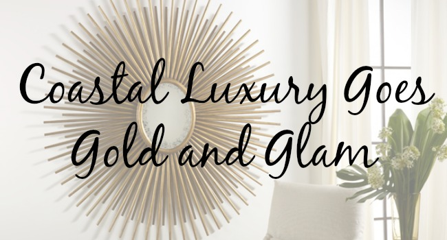 coastal luxury - gold