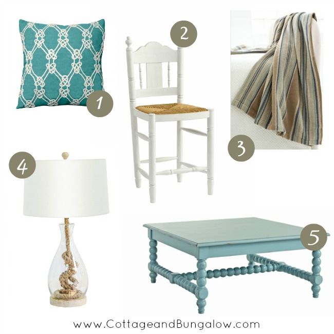 decorate cottage style - nantucket