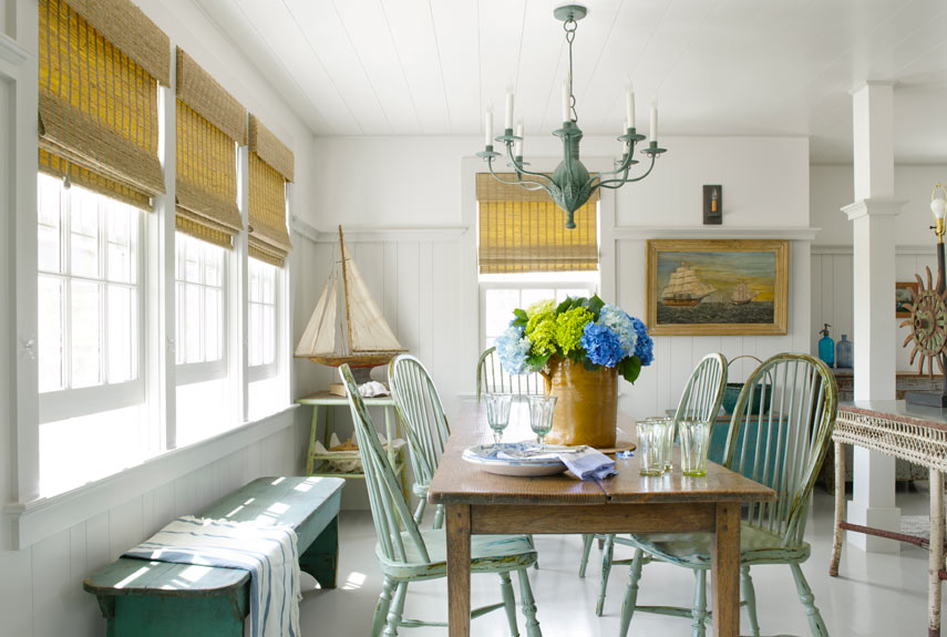 4 coastal looks to inspire you to decorate cottage style cottage