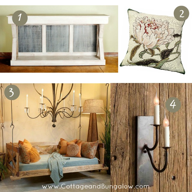 decorate cottage style - low country