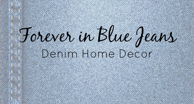 denim home decor