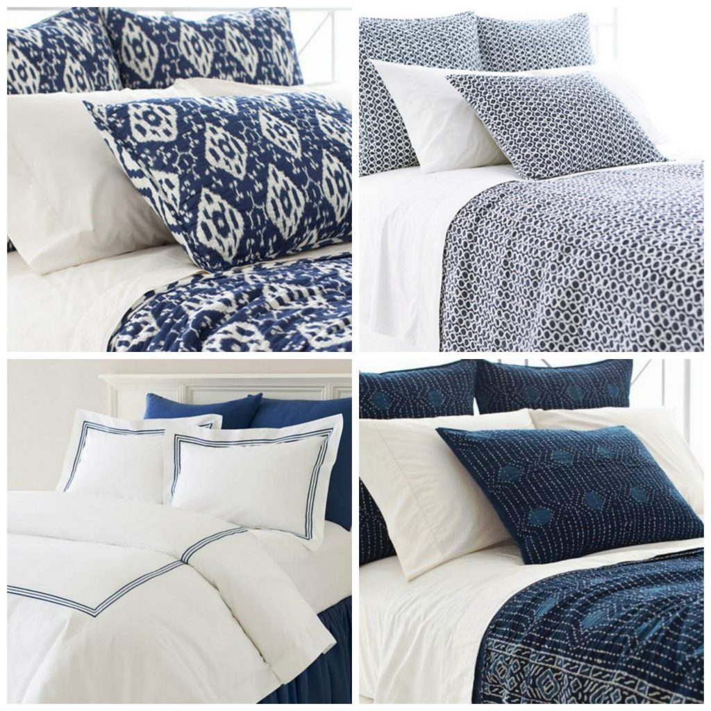 denim home decor bedding