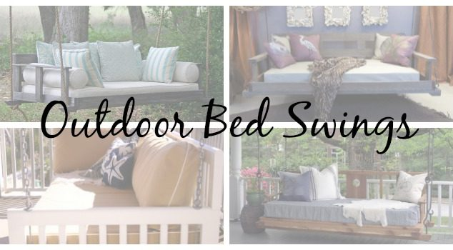 4 Outdoor Bed Swings We're Loving This Season