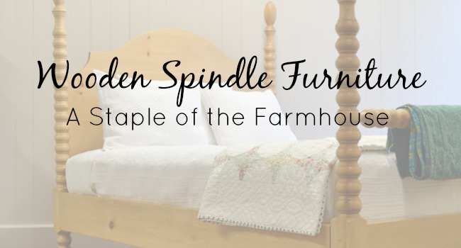 wooden spindle furniture