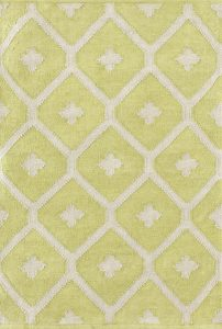 Dash and Albert Elizabeth Green Indoor/Outdoor Rug
