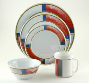 Life Preserver Melamine Dinnerware Collection with Platter